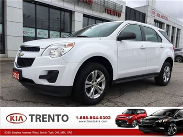 2010 CHEVROLET EQUINOX LS LOW KM ONE OWNER in North York, Ontario
