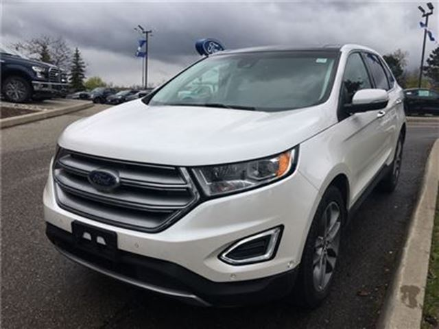 2016 Ford Edge Titanium,BLISS,NAVIGATION,SUNROOF,LEATHER in Mississauga, Ontario