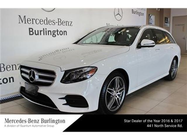 2017 Mercedes-Benz E400 4matic Wagon in Burlington, Ontario
