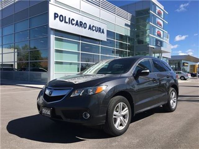 2014 ACURA RDX Tech at Technology Package, One Owner, Factory War in Brampton, Ontario