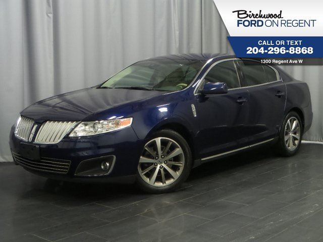 2011 LINCOLN MKS AWD *Heated&Cooled Leather/Nav* in Winnipeg, Manitoba