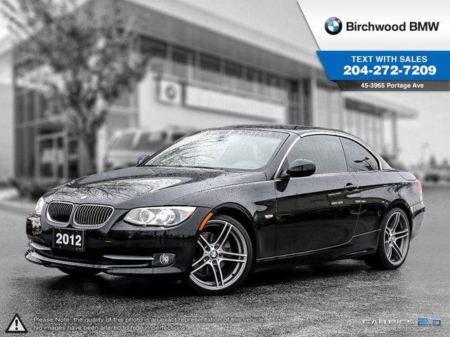 2012 BMW 3 Series 328 i 328i Executive, Technology Packages! in Winnipeg, Manitoba