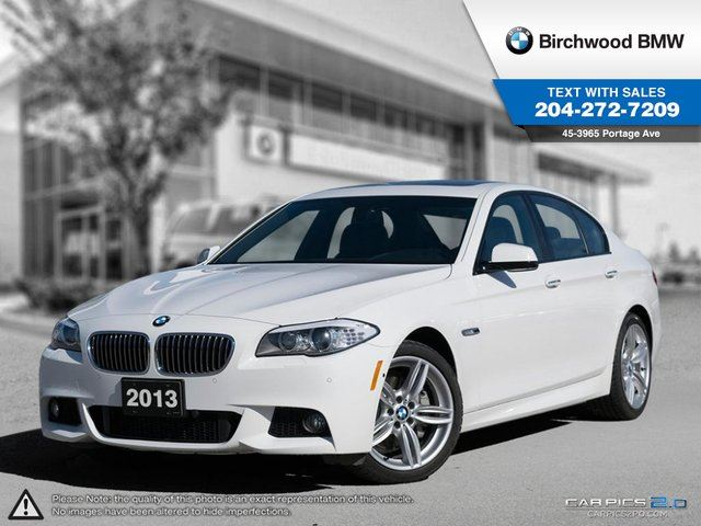 2013 BMW 5 Series 535i xDrive Local Car! M Sport Package in Winnipeg, Manitoba