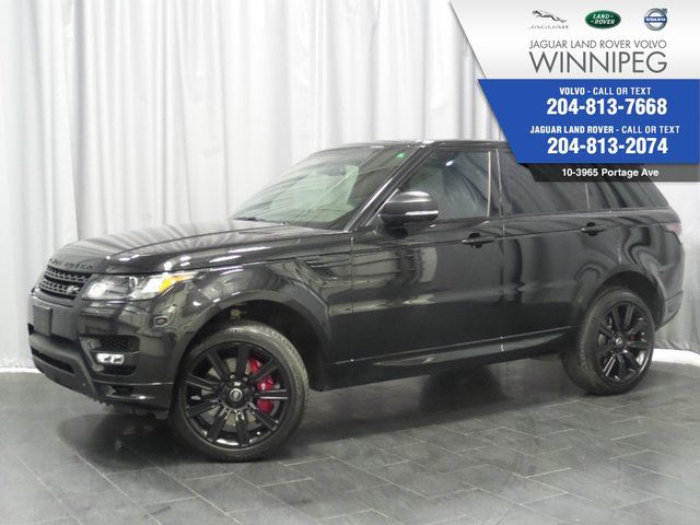 2015 LAND ROVER RANGE ROVER Sport V8 SC Autobiography Dynamic *WOW* in Winnipeg, Manitoba