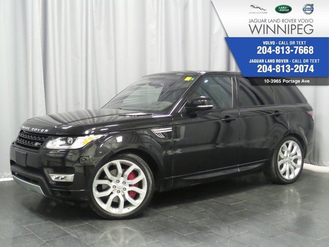 2016 LAND ROVER RANGE ROVER Sport V8 SC Dynamic *LOCAL ONE OWNER* in Winnipeg, Manitoba