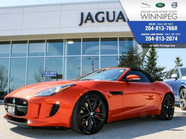 2014 JAGUAR F-TYPE V6 S *FINANCE RATES START AT .9%* in Winnipeg, Manitoba