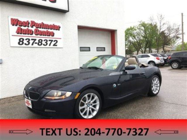 2007 BMW Z4 3.0i in Winnipeg, Manitoba