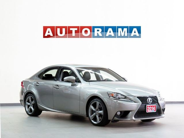 2014 LEXUS IS 350 AWD BACKUP CAMERA  LEATHER SUNROOF in North York, Ontario