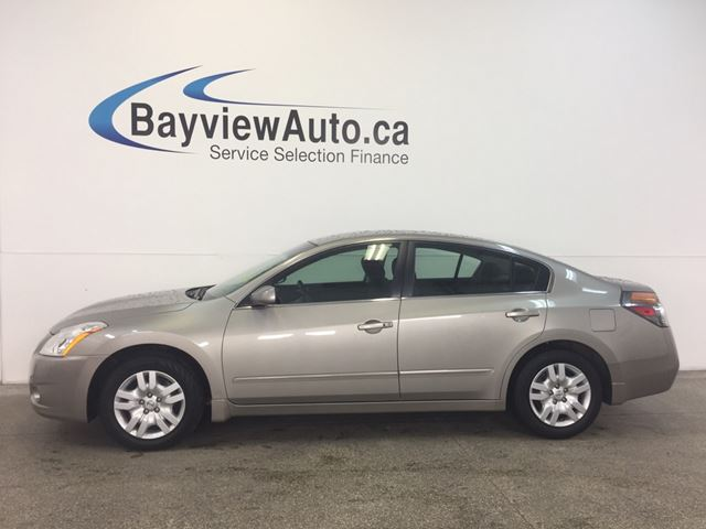2012 NISSAN ALTIMA S- 2.5L! PUSH BUTTON START! A/C! CRUISE! in Belleville, Ontario