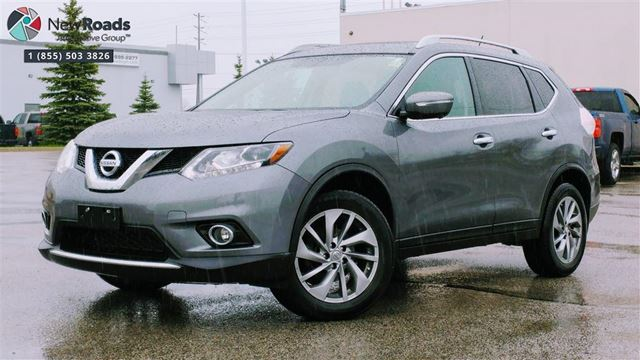 2015 NISSAN ROGUE SL, LEATHER, ROOF, NAV, NO ACCIDENT in Newmarket, Ontario