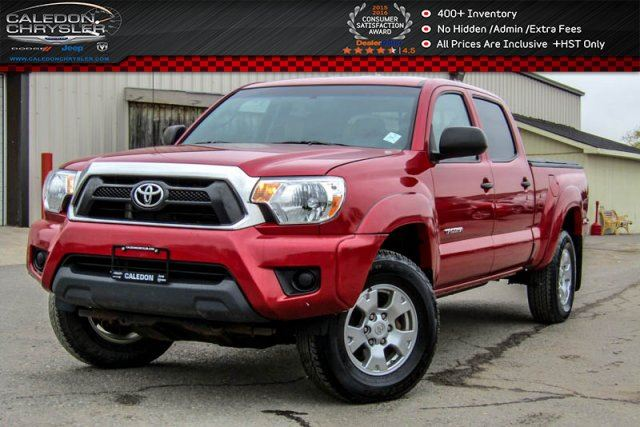 2014 Toyota Tacoma 4x4 Bluetooth Backup Cam Pwr Windows Pwr Locks Keyless Entry Accident Free in Bolton, Ontario