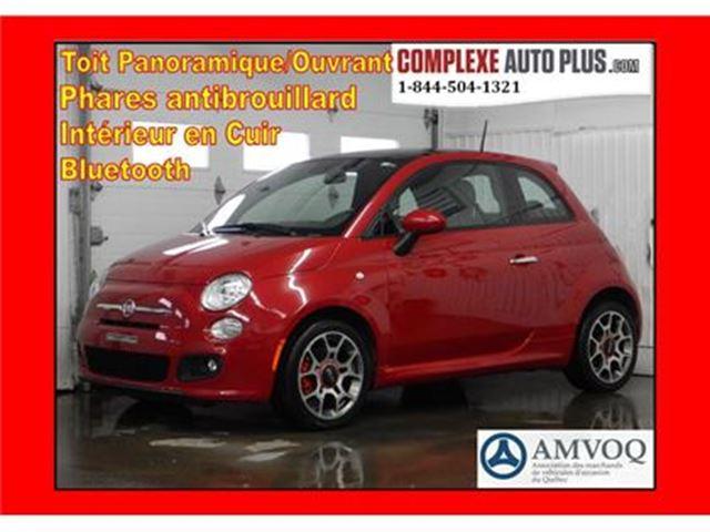2014 FIAT 500 Sport *Cuir, Toit pano. in Saint-Jerome, Quebec