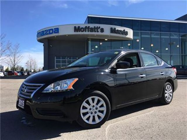 2015 NISSAN SENTRA 1.8 S, NEW ARRIVAL, VERY LOW KMS!! in Barrie, Ontario