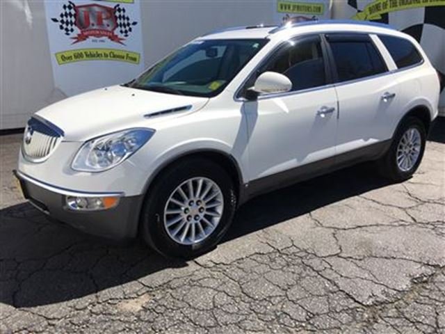 2010 BUICK ENCLAVE CXL1, Automatic, Leather, Third Row Seating, AWD in Burlington, Ontario