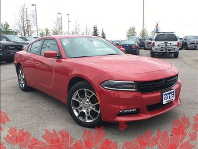 2016 Dodge Charger SXT**AWD**POWER SUNROOF** in Mississauga, Ontario
