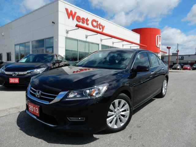 2013 HONDA ACCORD EX-L,V6,LEATHER,SUNROOF! in Belleville, Ontario