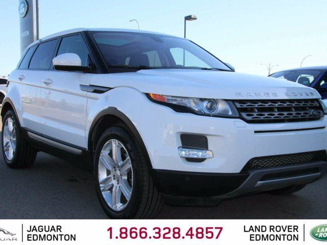 2014 LAND ROVER RANGE ROVER EVOQUE Pure Plus - CPO 6yr/160000kms manufacturer warranty included until Feb 27, 2020! CPO rates starting at 1.9%! Local One Owner Trade In | 3M Protection Applied | Navigation | Back Up Camera | Parking Sensors | Panoramic Glass Roof | Heated Windshield w in Edmonton, Alberta