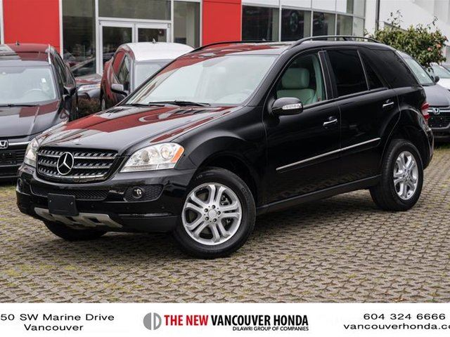 2007 MERCEDES-BENZ M-CLASS Base in Vancouver, British Columbia