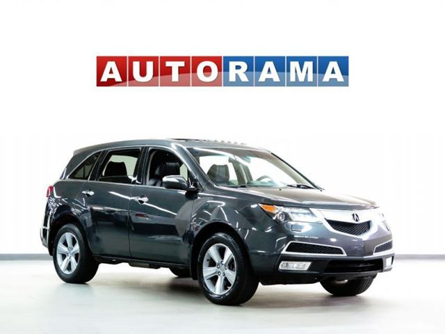 2013 ACURA MDX TECH PKG NAVIGATION LEATHER SUNROOF 4WD 7 PASS in North York, Ontario