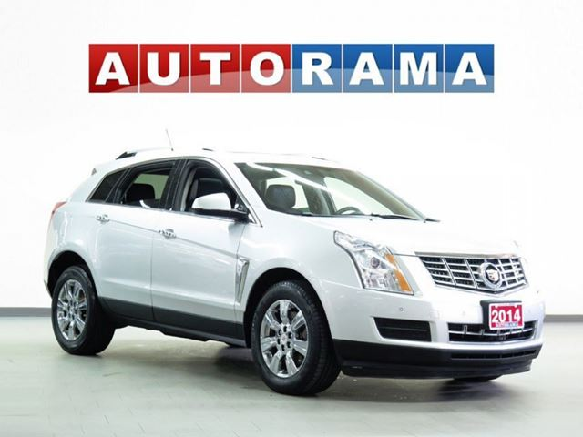 2014 CADILLAC SRX NAVIGATION LEATHER SUNROOF 4WD in North York, Ontario