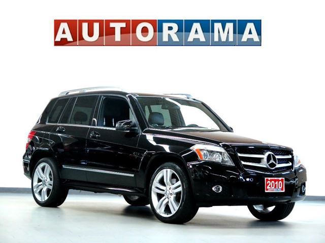 2010 MERCEDES-BENZ GLK-CLASS GLK350 LEATHER SUNROOF 4WD in North York, Ontario
