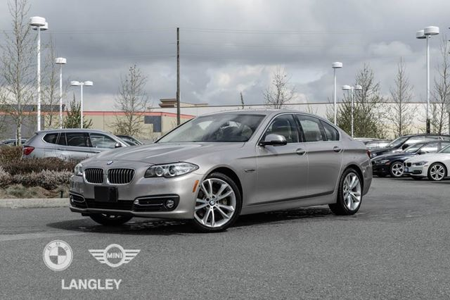 2014 BMW 5 Series 535 Premium & Sound Packages! in Langley, British Columbia
