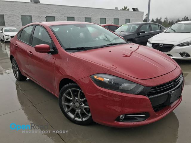 2014 DODGE DART SXT M/T One Owner Bluetooth Cruise Control  TCS in Port Moody, British Columbia