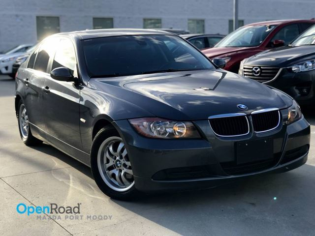 2007 BMW 3 SERIES 323i RWD A/T Local Blutooth Sunroof Leather TCS in Port Moody, British Columbia