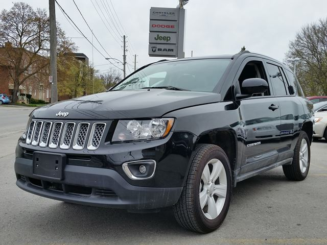 used 2016 jeep compass high altitude lindsay. Black Bedroom Furniture Sets. Home Design Ideas