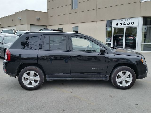 2016 jeep compass high altitude lindsay ontario car for sale 2769327. Black Bedroom Furniture Sets. Home Design Ideas