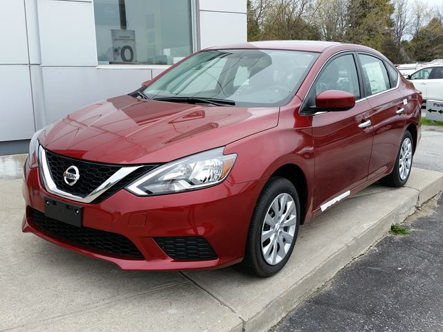 2017 Nissan Sentra Sv Red Experience Nissan New Car