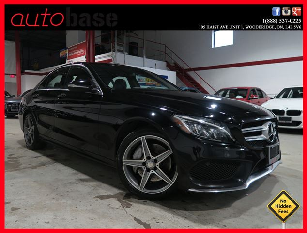 2015 MERCEDES-BENZ C-CLASS C300 4MATIC NAVIGATION | SPORT | PREMIUM | LED in Woodbridge, Ontario