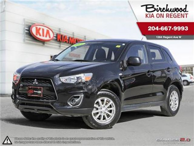 2013 MITSUBISHI RVR SE *ALL WHEEL CONTROL LOCAL TRADE 57983 KM!* in Winnipeg, Manitoba