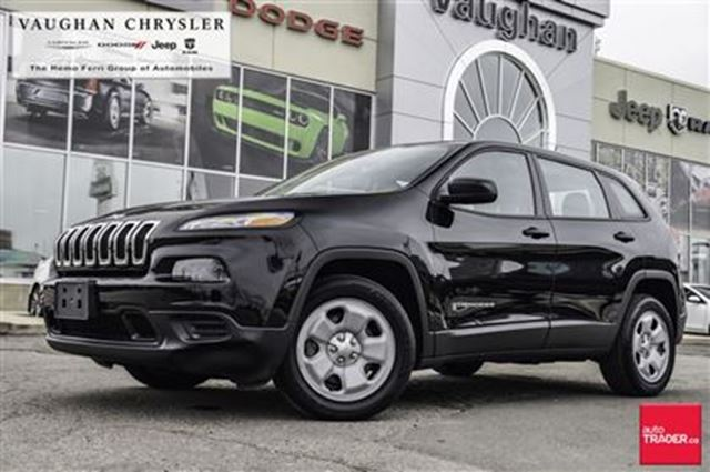 2014 JEEP CHEROKEE 1 Owner Sport * V6 * Only 58208 kms! in Woodbridge, Ontario