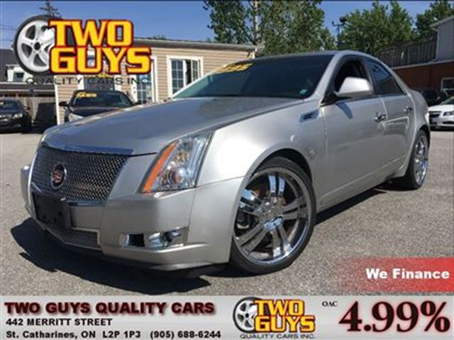 2008 CADILLAC CTS 3.6L w/1SB AWD NICE LOCAL TRADE IN!!! in St Catharines, Ontario