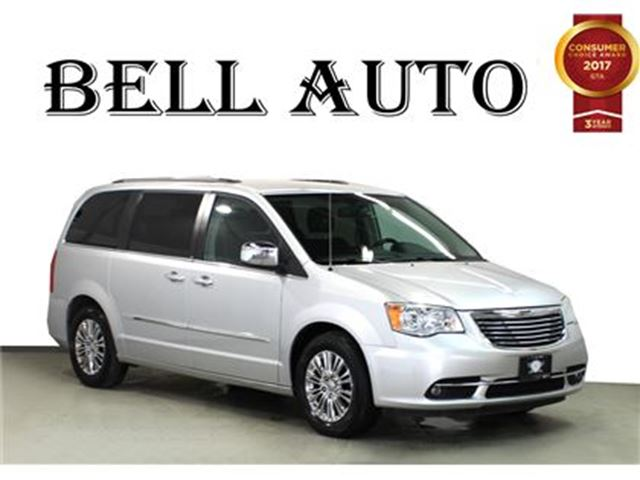 2011 CHRYSLER TOWN AND COUNTRY LIMITED LEATHER  NAVIGATION in Toronto, Ontario