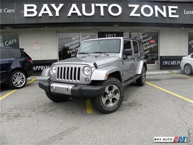 2016 Jeep Wrangler Unlimited SAHARA+ NAVIGATION+ HEATED SEAT in Toronto, Ontario