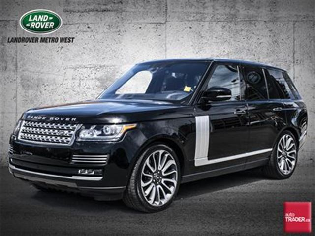 2016 Land Rover Range Rover 5.0L V8 Supercharged Autobiography in Toronto, Ontario