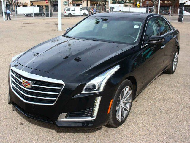 2016 CADILLAC CTS BLACK ON BLACK LOW KM FINANCE AVAILABLE in Edmonton, Alberta