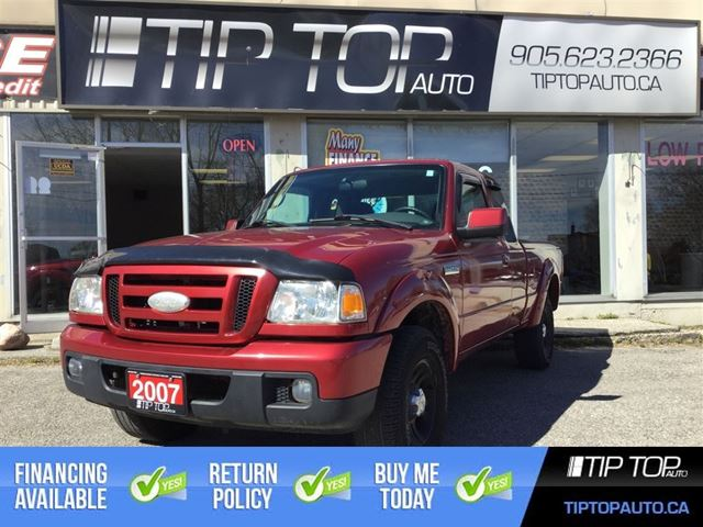 2007 FORD RANGER Sport ** Great Condition, Manual, Bed Liner ** in Bowmanville, Ontario