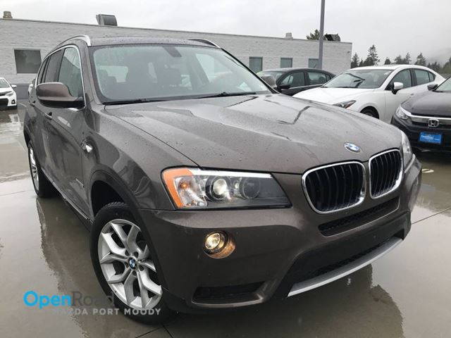 2013 BMW X3 28i A/T Xdrive No Accident Low Kms Bluetooth Le in Port Moody, British Columbia
