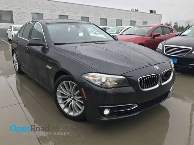 2015 BMW 5 SERIES 528i xDrive  AWD A/T No Accident Bluetooth Sunr in Port Moody, British Columbia