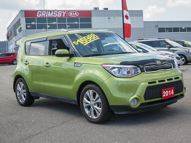 2014 kia soul ex stylish and fuel efficient grimsby ontario car for sale 2770357. Black Bedroom Furniture Sets. Home Design Ideas