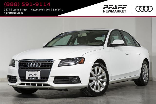 2011 AUDI A4 2.0T Safety Certified in Newmarket, Ontario