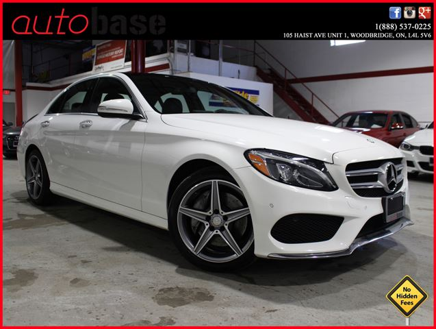 2015 MERCEDES-BENZ C-CLASS C400 4MATIC NAVIGATION | PREMIUM | AMG in Woodbridge, Ontario