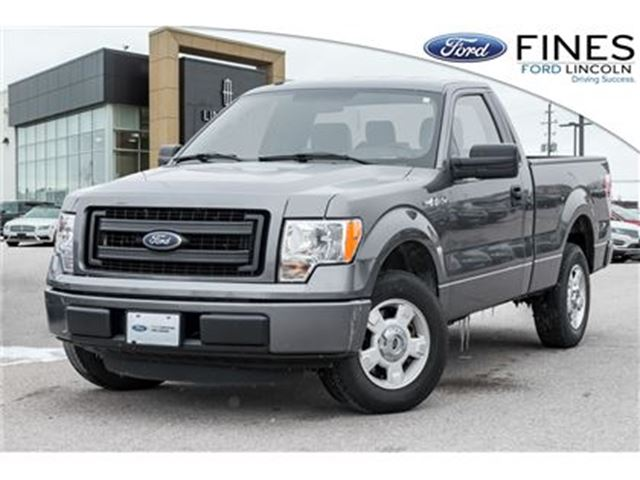 2014 FORD F-150 STX - REGULAR CAB, 2WD, 3.73 AXLE in Bolton, Ontario