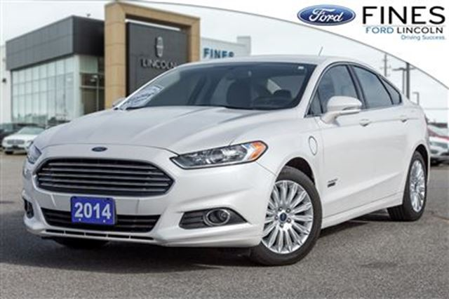 2014 FORD Fusion SE Luxury - LEATHER, NAVI, HEATED STEERING WHEEL in Bolton, Ontario