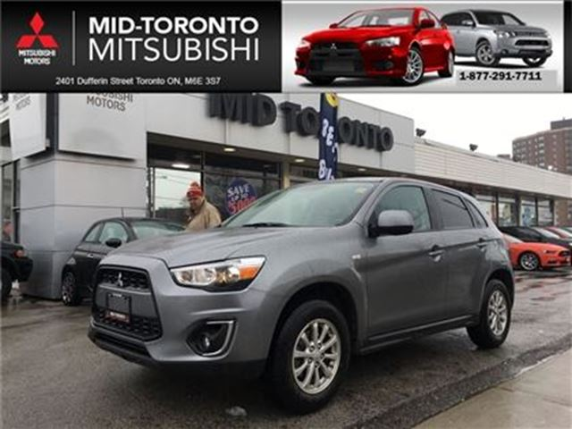2014 MITSUBISHI RVR ES** very low kms.. local trade in in Toronto, Ontario