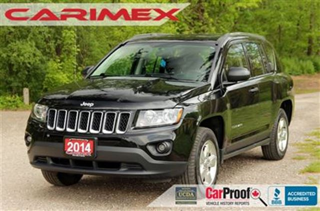 2014 JEEP COMPASS Sport/North   CERTIFIED + E-Tested in Kitchener, Ontario