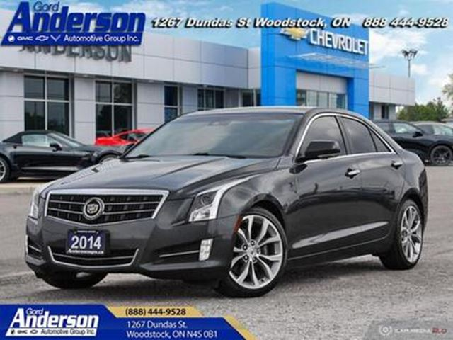 2014 CADILLAC ATS 2.0 Turbo Performance - Leather Seats in Woodstock, Ontario